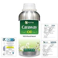 Caraway (Carum carvi) 100% Natural Pure Essential Oil 2000ml/67 fl.oz.