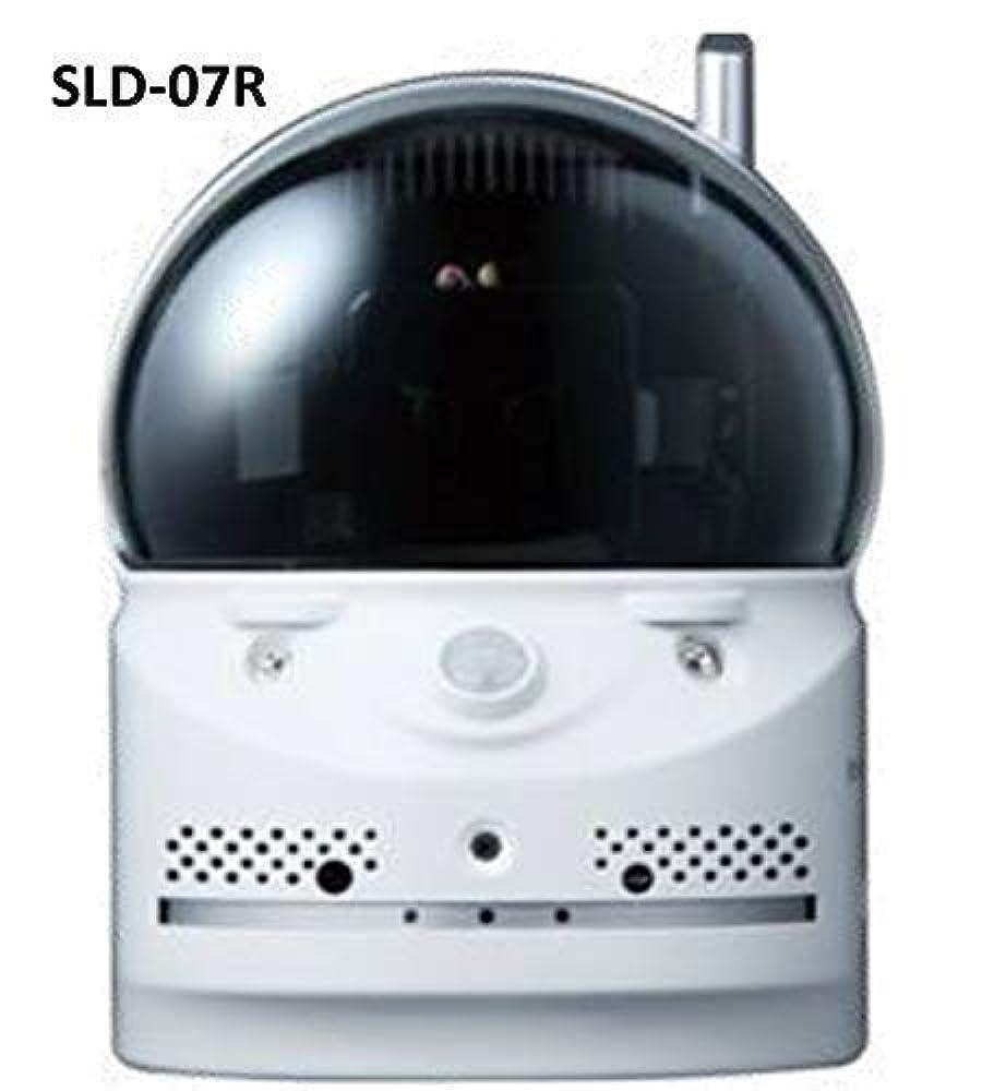 (パン/チルト/暗闇対応) オールインワンIPカメラ SLD-07R(取付ブラケット SLD-BR01付)