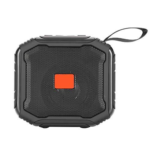 Bluetooth-Lautsprecher, tragbare drahtlose TWS-Außenlautsprecher-Unterstützung U Festplatte/kleine Speicherkarte Bass-Audio-Lautsprecher Audiovisuell für Smartphones, Laptops, Tablet-PCs usw.