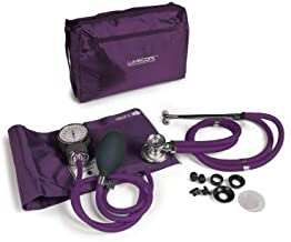 Lumiscope Grape Blood Pressure and Stethoscope Kit