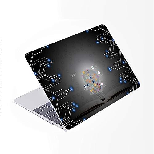 SDH Más nuevo para MacBook Pro 13 pulgadas caso 2020 liberación Touch Bar & ID Modelo: A2338/A2289/A2251,funda de ordenador portátil y cubierta de teclado Skin 4 en 1 paquete, bombilla 14
