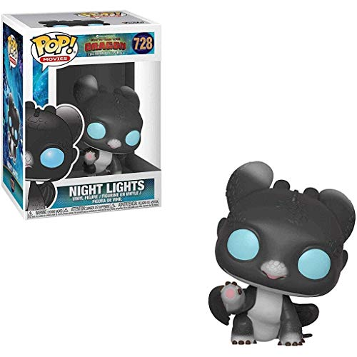 FreeStar Funko Pop Movies : How to Train Your Dragon 3 - Toothless#728 3.75inch Vinyl Gift for Anime Fans Multicolur
