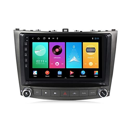Amimilili Android 9 Radio de Coche estéreo para Lexus IS250 2005-2013 Pantalla táctil de 9 Pulgadas Navegación GPS BT USB WiFi Llamadas Manos Libres/FM/SWC +cámara Trasera,M150 2+ 32g