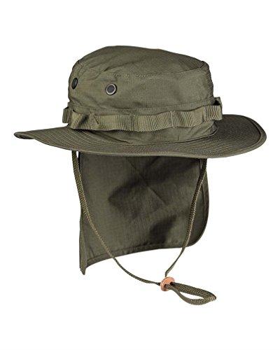 Mil-Tec Boonie Sombrero británico protección Cuello