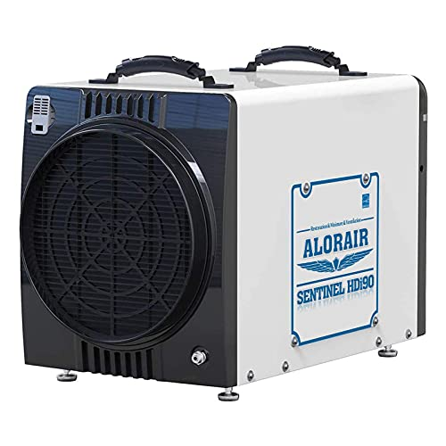 AlorAir Duct-able Version Basement/Crawl Space Dehumidifiers 198 PPD Commercial Industrial Dehumidifier with Pump & Drain Hose, Energy Star Listed, Auto Defrosting, 5 Years Warranty, Whole Homes