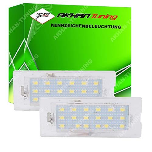 akhan-tuning éclairage de Plaque Minéralogique à LED, Unité Complète Plug N Play