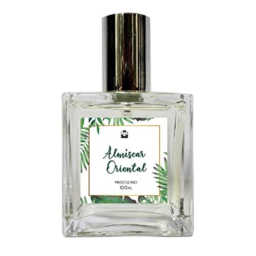 Perfume Masculino Black Almíscar Oriental 100ml - Com Óleo Essencial Natural