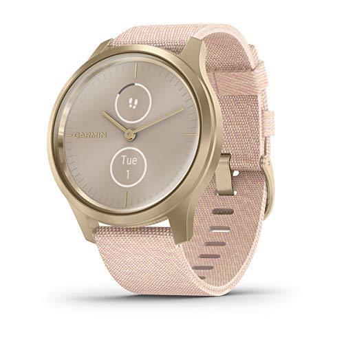 Garmin Vívomove 3 Classic- Reloj inteligente, color light gold y rosa claro