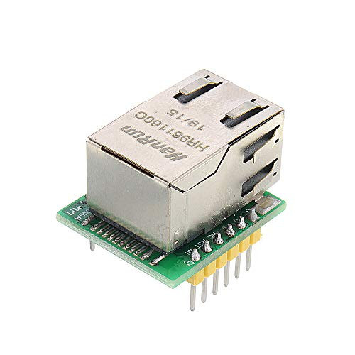 Guiping Smart Modul W5500 Ethernet Modul TCP/IP Protocol Stack SPI Interface IOT Shield für Arduino – Produkte, die mit offiziellen Arduino Boards funktionieren, 3 Stück