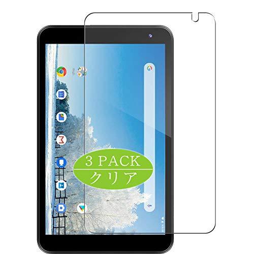VacFun 3 Piezas Claro Protector de Pantalla, compatible con Dragon Touch Tablet 8' Y80, Screen Protector Película Protectora(Not Cristal Templado) NEW Version