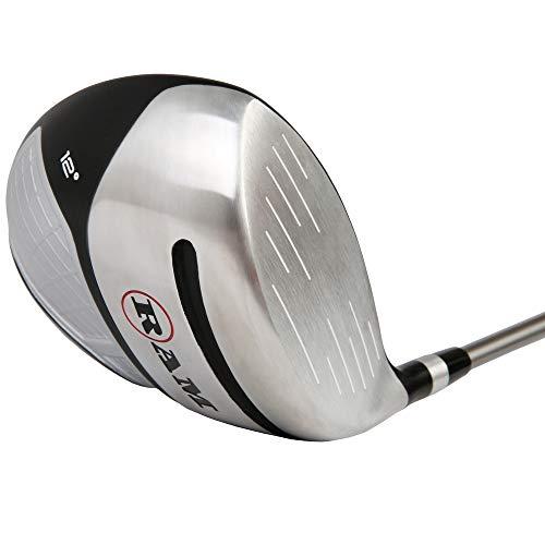 Ram Golf Laser Anti-Slice Offset 460cc Oversize 12° Driver, Mens Right Hand