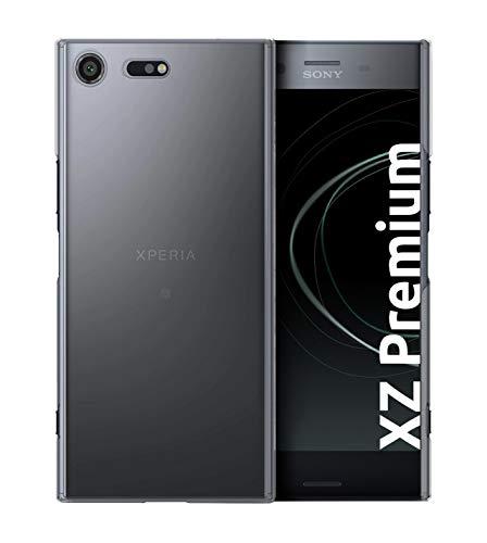 Custodia protettiva posteriore Slim-Case di Sony Xperia XZ Premium [smart engineered] Transparente, Protegge da graffi e urti, sottile