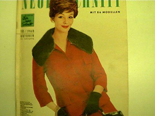 Sportliche Kleider - jung und chic / Spezialkleidung für mollige und schlanke ältere Damen ... ----------- Neuer Schnitt, 10/1960, Oktober 13....