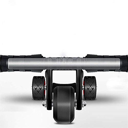 H.yina Durable Triangular Ab Roller Fitness Fitnessgeräte Heavy Duty Bauch Carver Abs Trainer Outdoor Indoor Workout Maschine 3-Rad Anti-Rutsch (Farbe, Größe: Raddurchmesser 16,5 cm)