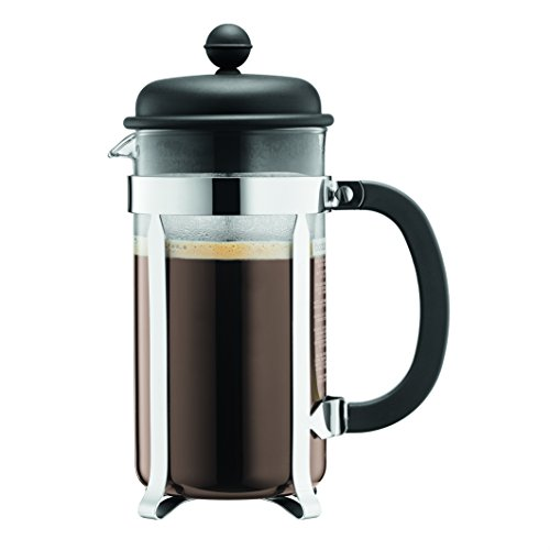 Bodum 1918-01SA-10 CAFFETTIERA - Cafetera de pistón (plástico, 8 Tazas, 1 litro)