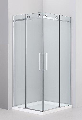 VB Italia, Cabina doccia super lusso - 8 mm di spessore vetro NEW 2 porte scorrevoli