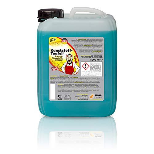 TUGA Chemie Tep-KT-5-NL Kunststoff-Teufel Limpiador Universal de plástico-azul-5000ml