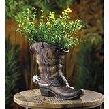 Zingz & Thingz Cowboy Lone Boot Planter