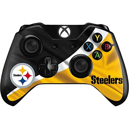 Skinit Decal Gaming Skin Compatible with Xbox One Controller - Officially Licensed NFL Pittsburgh Steelers Design
