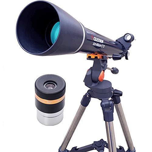 RUIXFLR Leicht Fernrohr, Tragbare Astronomische Teleskop Ist Einfach Zu Bedienen Und Für Zwei Zwecke Wie Sternbeobachtung Und Vogelbeobachtung Zu Zerlegen Geschenk