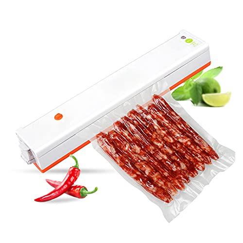 Vakuumiergerät Vakuumierer Einschweißgerät Lebensmittel Vakuumgerät Folienschweißgerät Packmaschine Vacuum Sealer, 30cm Lange Siegelbreite, mit 10 Vakuumbeutel