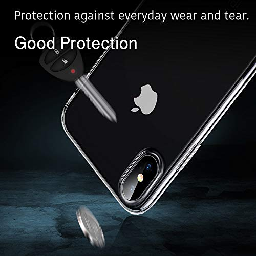 ESR Slim Flexible Cover Compatible for iPhone X/XS