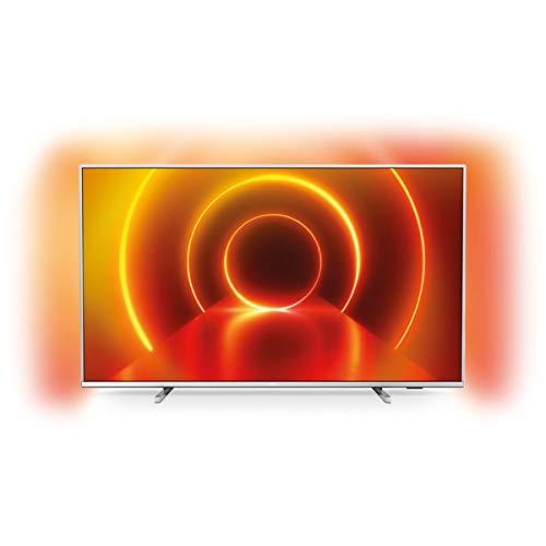 petit un compact Philips 65PUS7855 / 12 TV 165,1 cm (65 pouces) 4K UltraHD Smart TV WiFi Argent