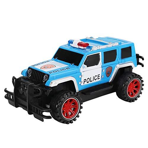 Watopi 1 unidad escala 1:18 2.4G 2WD SUV RC Coche de control remoto Crawler Camión Militar Juguete Ideal Regalos de Navidad Control Remoto Juguete para niños y adultos
