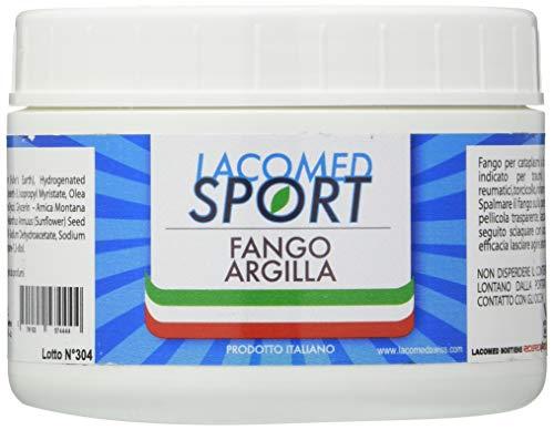 Lacomed Sport Fango Argilla Vaso, Bianco, 250 Millilitro