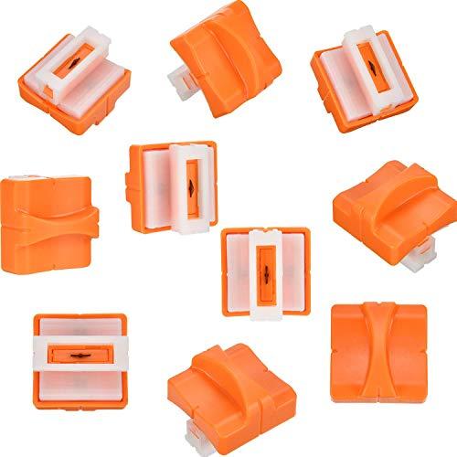DEZHI 5 Piezas de Cuchilla de Repuesto de Guillotina de Papel con Diseño Prensado Seguro para Cortadora de Papel (A4)(A4)