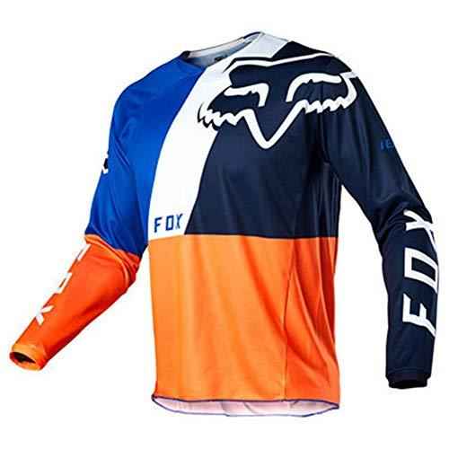 Bike Wear Herren Downhill Jersey Rage MTB Radfahren Top Fahrrad Langarm Frühling Mountainbike Shirt (Y-3, M)
