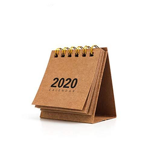 NRRN Calendario de escritorio 2021, calendario motivacional, calendario mensual para escritorio/pared con tapa y calendario diario