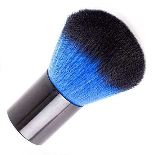 HZWLF Herramienta de Arte de uñas, Conveniente Cepillo de uñas Cosmético Suave Cepillo de Arte de uñas Acrílico UV Gel Esmalte removedor de Polvo Limpiador