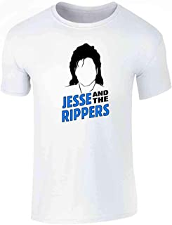 Pop Threads Jesse and The Rippers Band Graphic Tee T-Shirt for Men