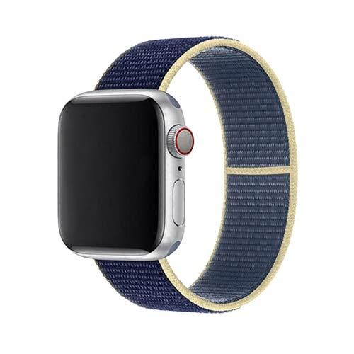 liqun Cinturino per Cinturino per Orologio 44 Mm 40 Mm per Cinturino Iwatch 42 Mm 38 Mm Cinturino Sportivo Tessuto in Nylon per Apple Watch 6 Se 5 4 3 2 38 40 42 44 Mm
