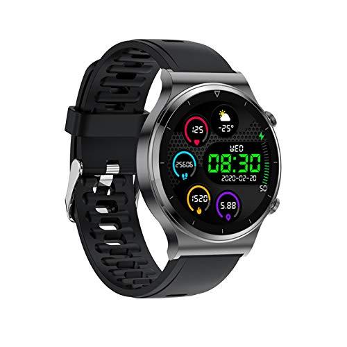 xiaoxioaguo Bluetooth llamada inteligente reloj de los hombres IP68 impermeable pantalla táctil completa deportes fitness personalizado cara de los hombres reloj