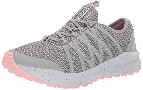 Saucony Women's VERSAFOAM Shift Road Running Shoe, Grey/Pink, 12 M US