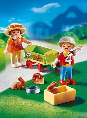 PLAYMOBIL® 4349 - Bollerwagen mit Kleintieren