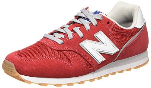 New Balance Herren 373v2 Sneaker, Rot (Red/White De2), 43 EU