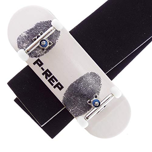 P-REP Solid Performance Complete Wooden Fingerboard 32mm x 100mm Graphic (Fingerprint)