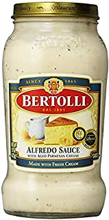 Bertolli Alfredo Sauce with Aged Parmesan Cheese, 15 oz 4 Pack