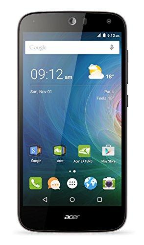 Acer Liquid Z630 Dual-SIM LTE Smartphone (14 cm (5,5 Zoll) IPS HD Zero-Air-Gap Display, 1280 x 720 Pixel, Quad-Core-Prozessor, 8 Megapixel, 2GB RAM, 16GB Speicher, 4000 mAh Akku, Android 5.1) silber