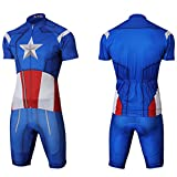 Cycling Jersey Batman||Iron Man||Spiderman||Captain America|| Breathable Set