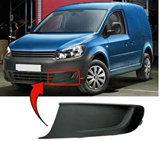 Trade Vehicle Parts CT4049 Front Bumper Fog Grille With Fog Lamp Hole Primed Driver Side