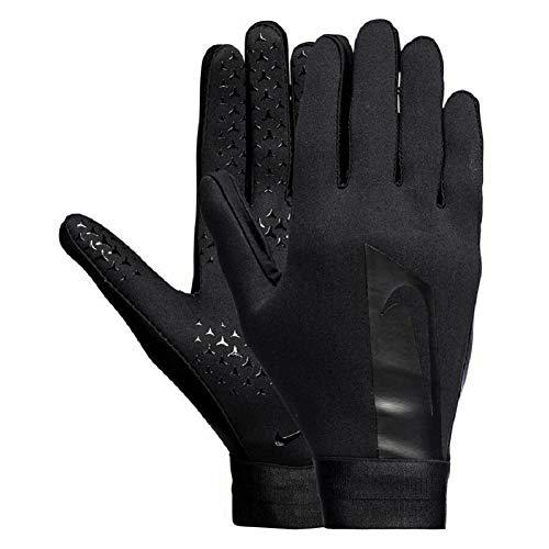 Nike Junior Hyperwarm Fußballhandschuhe M schwarz/schwarz