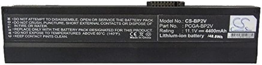 Cameron Sino 4400mAh Li-ion High-Capacity Replacement Batteries for Sony VAIO PCG-Z1 , fits Sony PCGA-BP2V