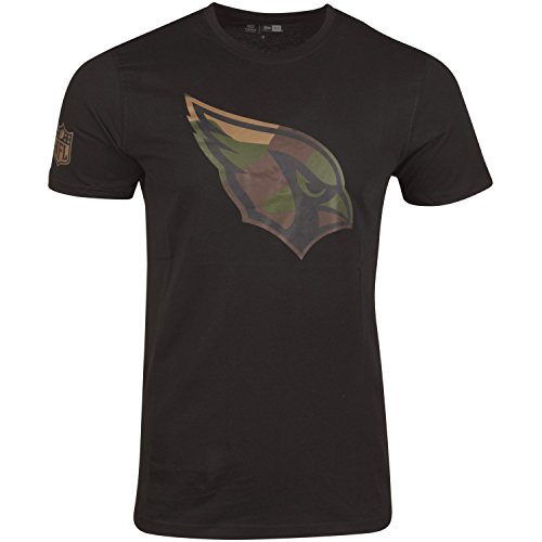 New Era Shirt - NFL Arizona Cardinals schwarz/Wood - S