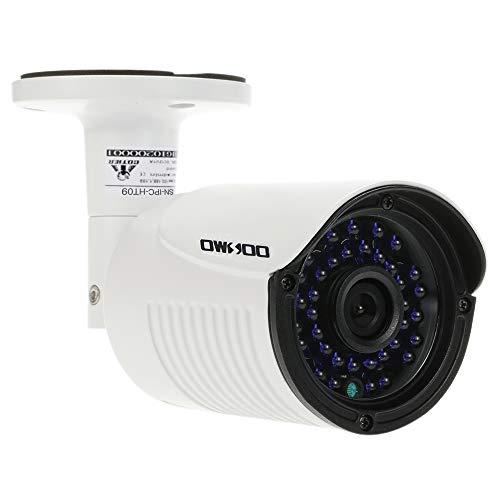 OWSOO - Cámara IP POE HD 1080P 2.0 MP 3,6 mm 1/2,8 pulgadas CMOS H.264 P2P Onvif 36 LED IR Visión Nocturna IR-Cut Detección de Movimiento Teléfono APP Control Seguridad Domicilia