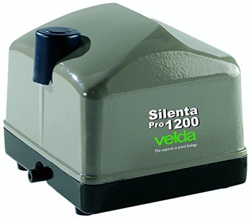 Velda 125080 Professionelles Belüftungsset für Teiche bis 3000 Liter, 15 Watt, Silenta Pro Air 1200
