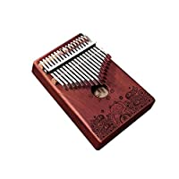 MYQXAZ カリンバ。17トーンカリンバ親指ピアノ、初心者のエントリProfessionalは遊ぶポータブル機器(様式1、プレゼント、ギフトのフルセット) (Color : Style 5)